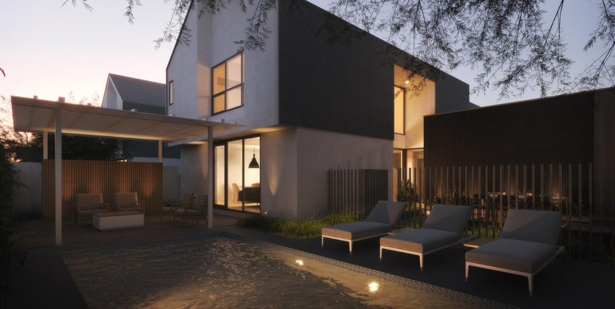 Fasilitas Kolam Renang pada Desain Rumah Modern
