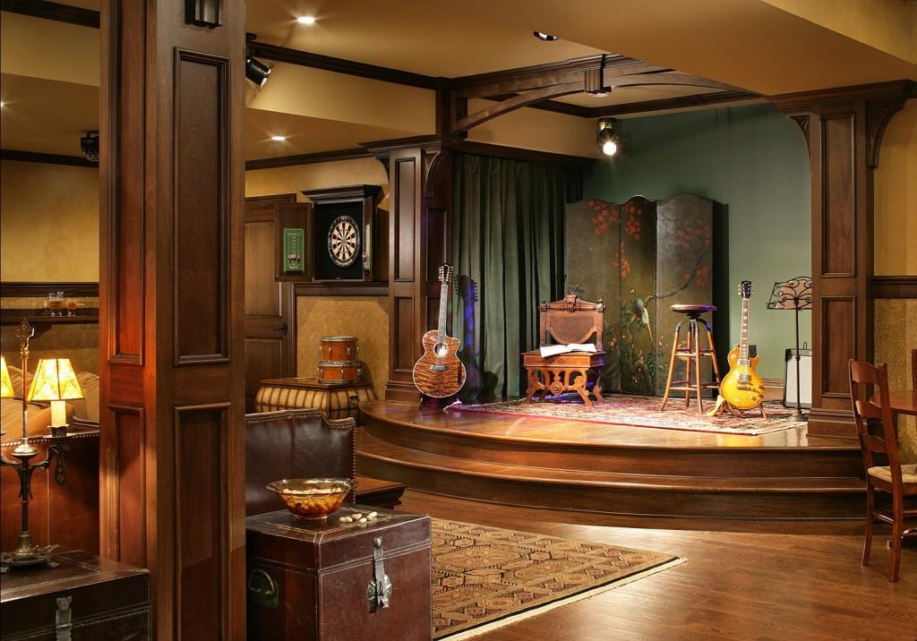 Panggung Musik di Rumah
