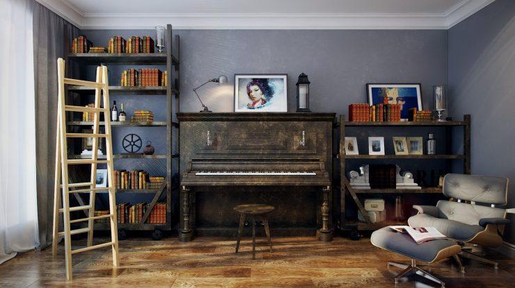 ruang musik di rumah