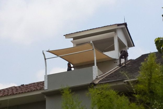 Model Atap Rumah Tenda