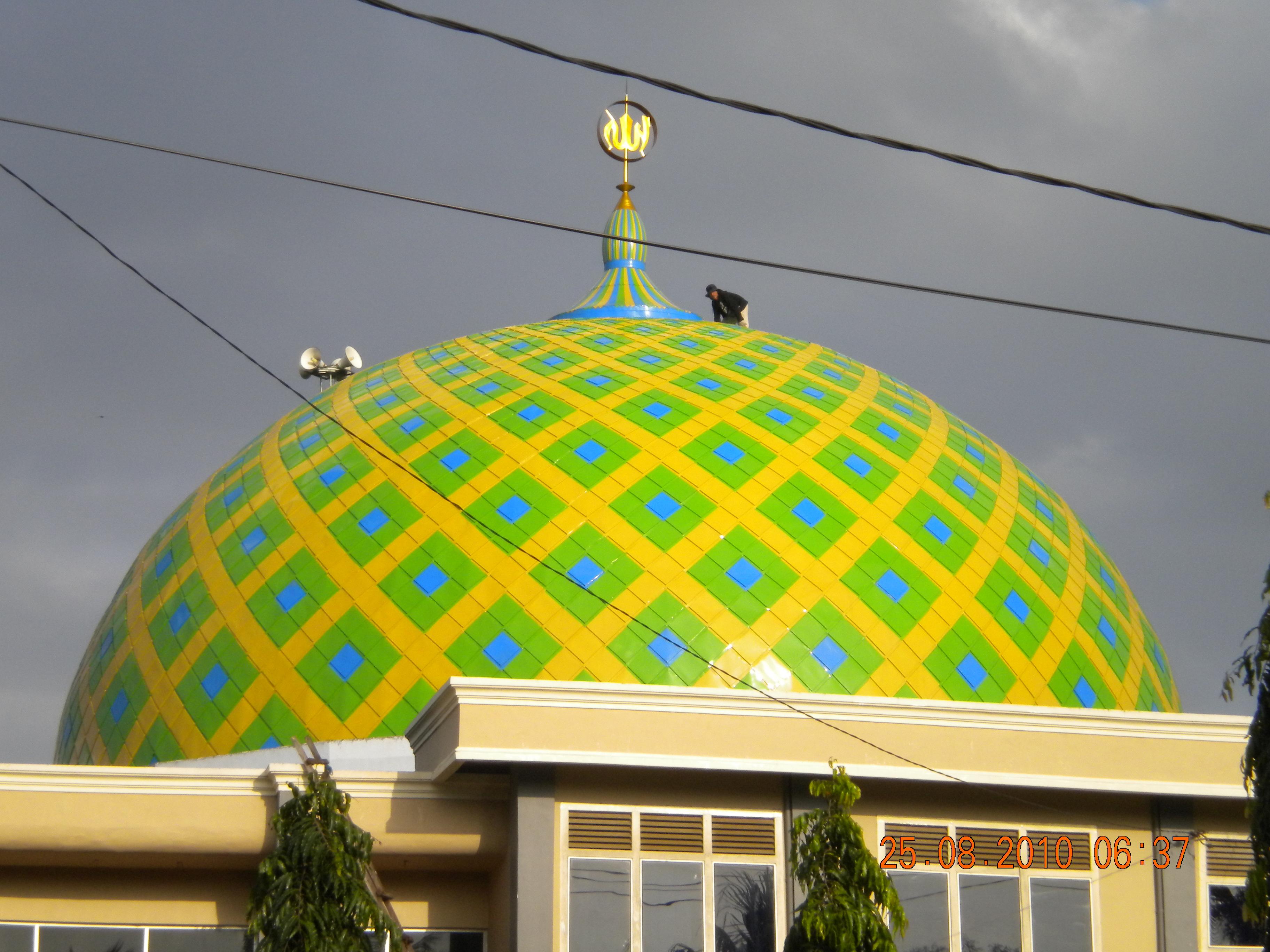 Model Atap Rumah Setengah Bola