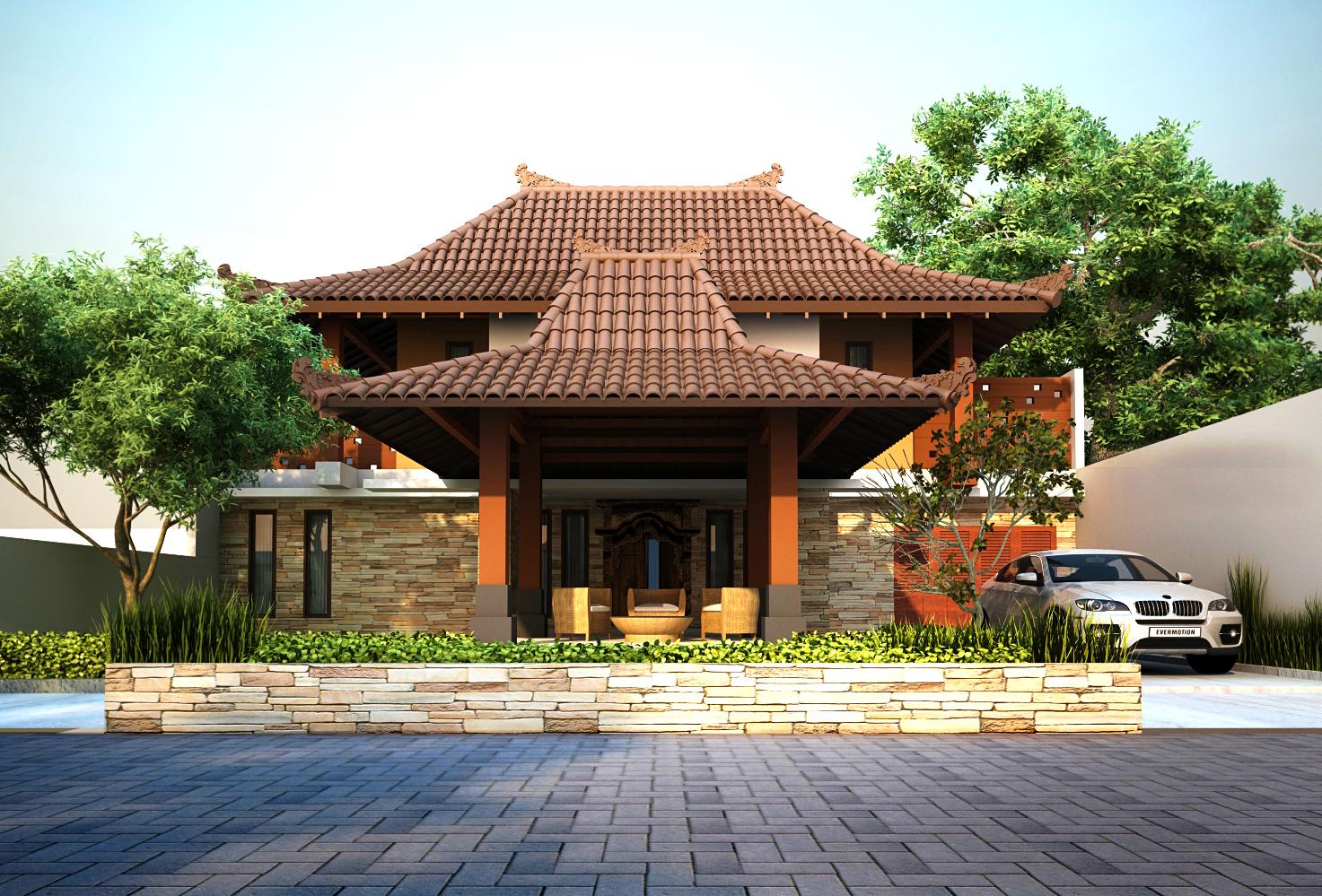 Model Atap Rumah Joglo