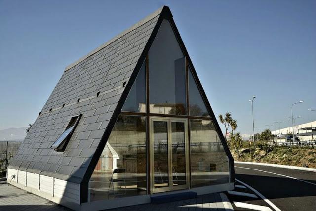 Model Atap Rumah Menara