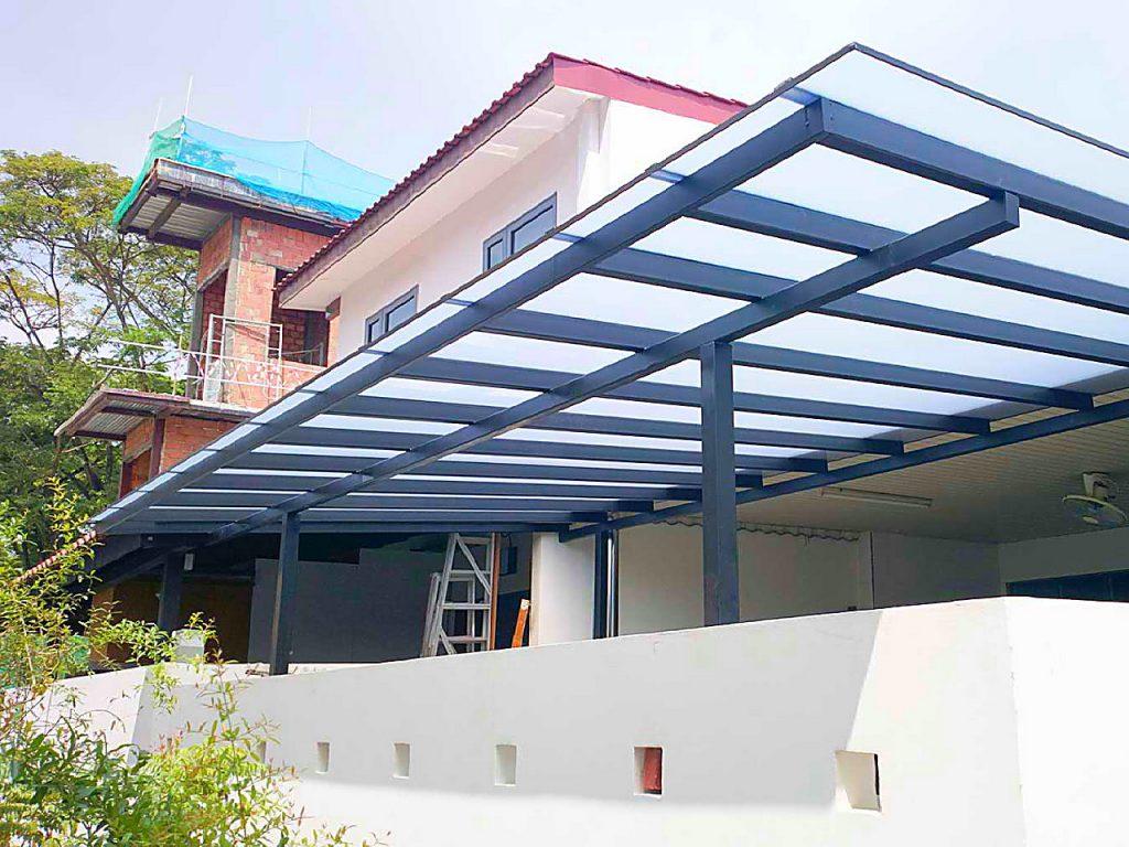 Atap Fiber Rumah