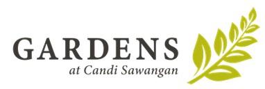 Gardens at Candi Sawangan