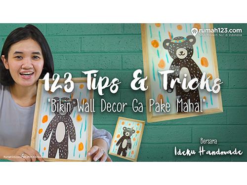 123 Tips Wall decor